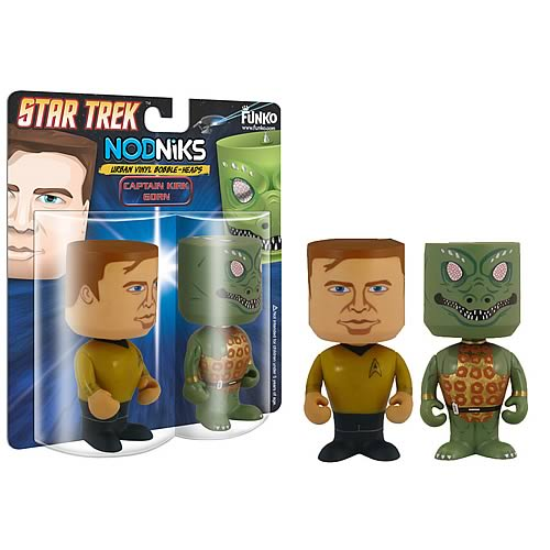 star trek captain kirk bobble head