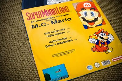 super mario bros music records