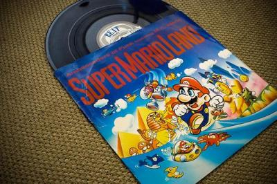 super mario brothers music records