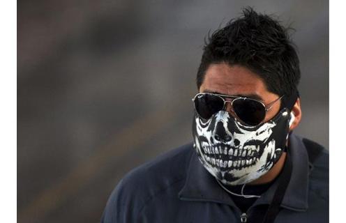 swine flu halloween masks
