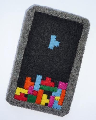 cool tetris iphone case