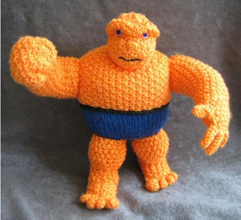 the thing orange doll