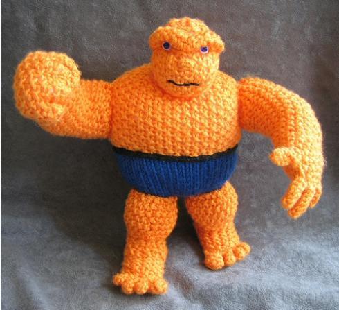 the thing orange doll