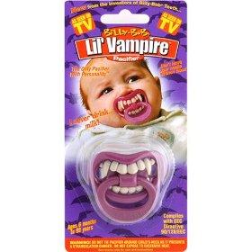 vampire baby pacifier