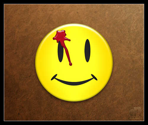 the comedian watchmen button