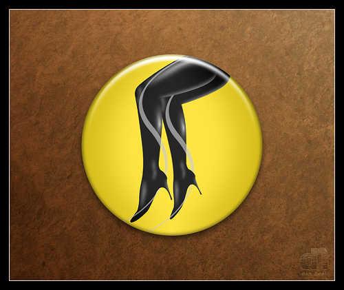 silk spectre watchmen button