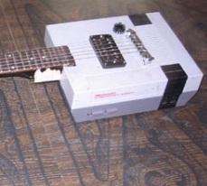 weird nes guitar mod