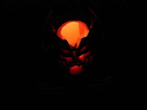 wolverine pumpkin carving