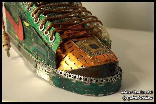 Blazer Pentium 1.0 shoe design