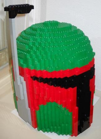 Boba Fett Brick Helmet