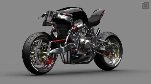 FALLOUT concept bike