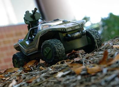 Halo RC Warthog toy