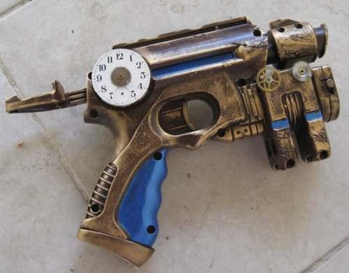 Nerf Maverick Nite Finder Steampunk Gun