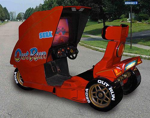 OutRun Arcade Car