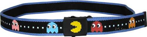 Pac Man Blue Trim Belt