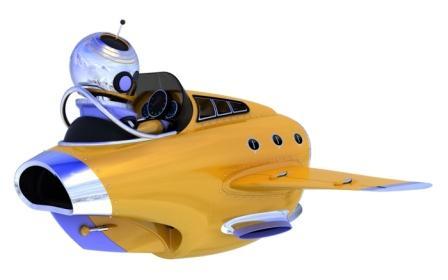 Robo Pilot Future Robot