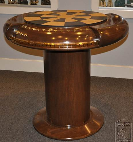 Steampunk Millenium Chess Table
