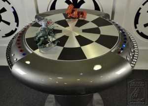 Steampunk Millenium Chess Table(3)