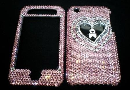 Swarovski Crystal iPhone Faceplate