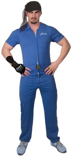 The Jesus Lebowski Blue Jumpsuit
