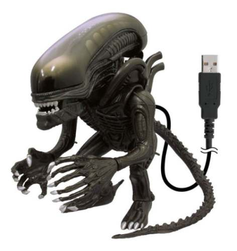 USB Alien With Illuminated Tongue