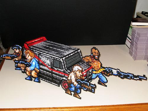 a-team characters perler beads