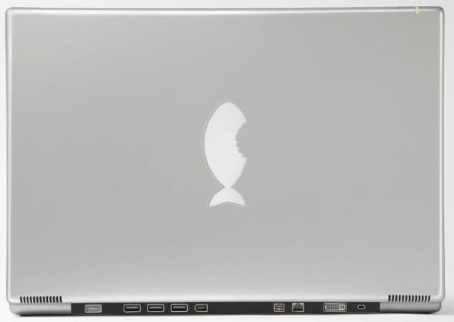 apple macbook cover fish