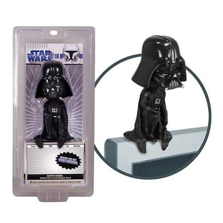 darth vader computer figure head
