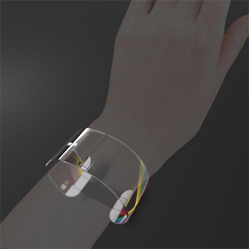 futuristic mobile music jewelry wrist