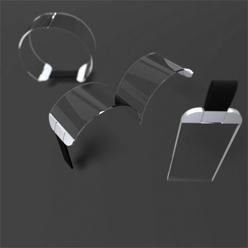 futuristic mobile music jewelry wrist bracelet