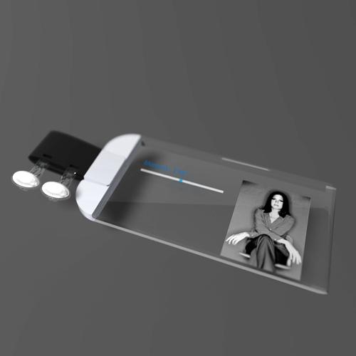 futuristic mobile music jewelry wrist piece