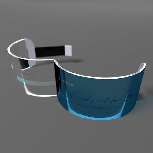 futuristic mobile music jewelry wrist accessory