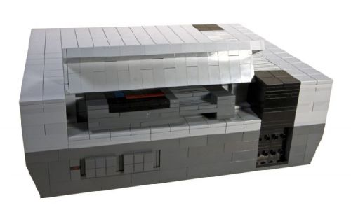 lego nes art creation