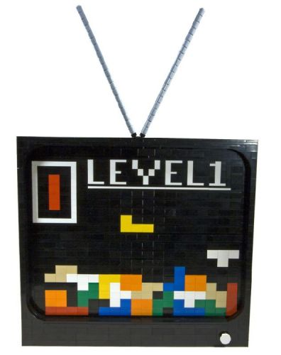 lego tetris monitor