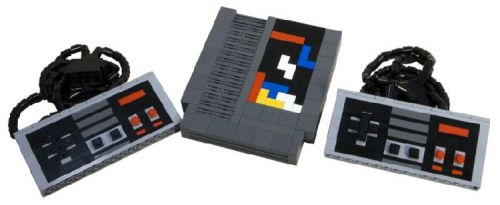 lego tetris nes cartridge