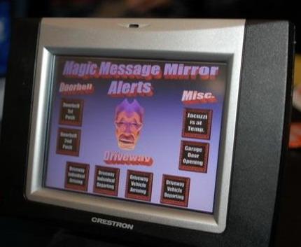 hi tech butler mirror gadget