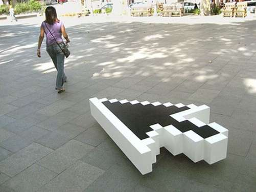 mouse cursor bench design