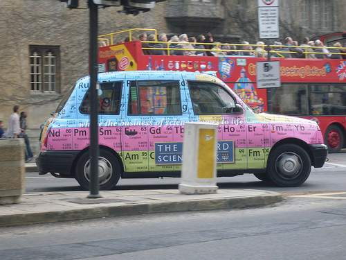periodic Table of elements taxi 12