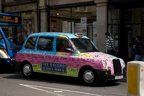 periodic Table of elements taxi 6