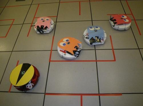roomba vacuum pacman game
