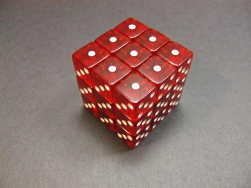 rubik's cube dice