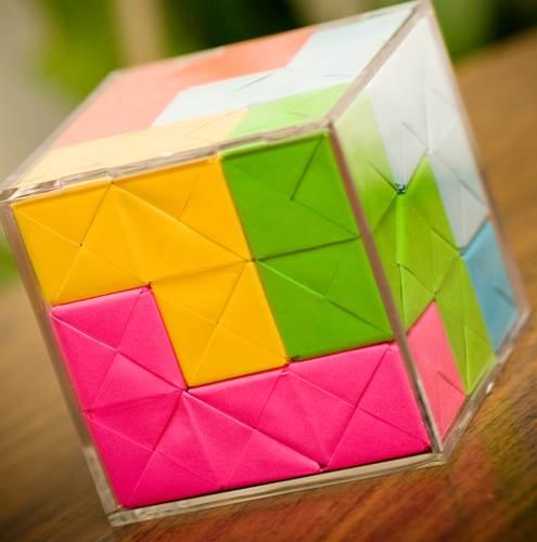 soma cube assembled