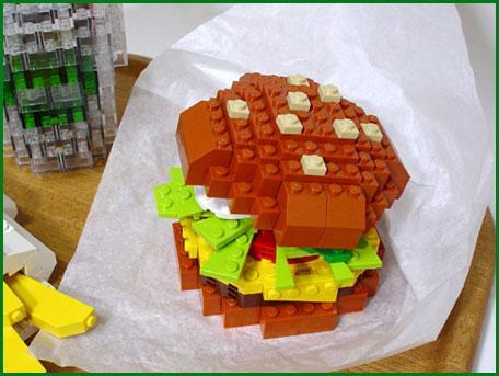 tasty lego hamburger