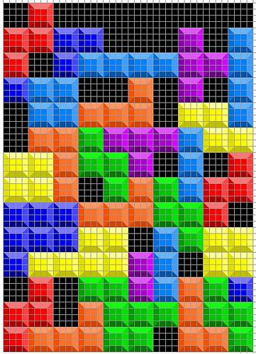 tetris quilt design instructions