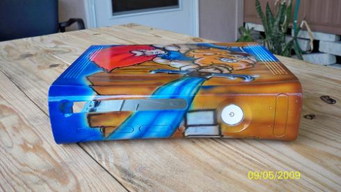 thundercats xbox 360 shell