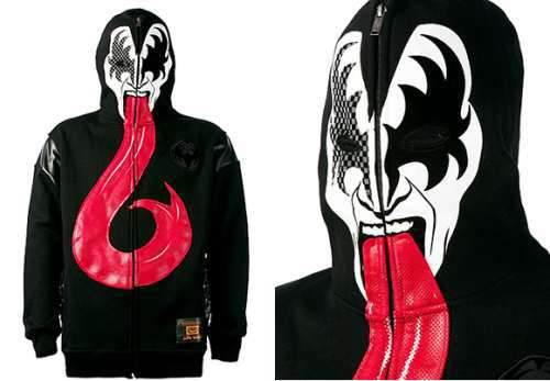 Black Rhino Kiss Hoodie is a must have for a Rock Fan-1