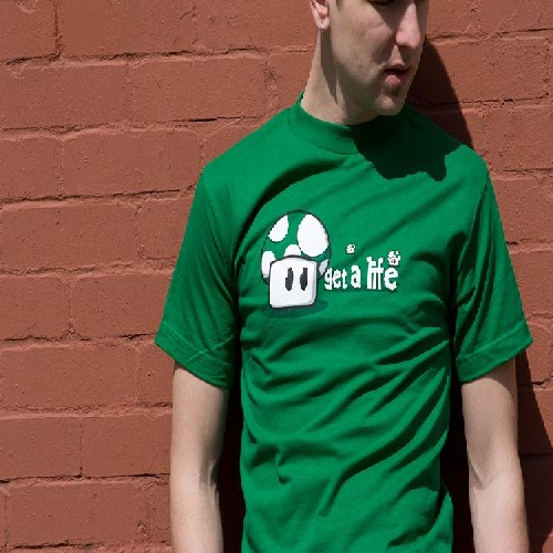 Get a life T shirt 1