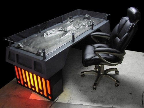 Han Solo Carbonite Desk(2)