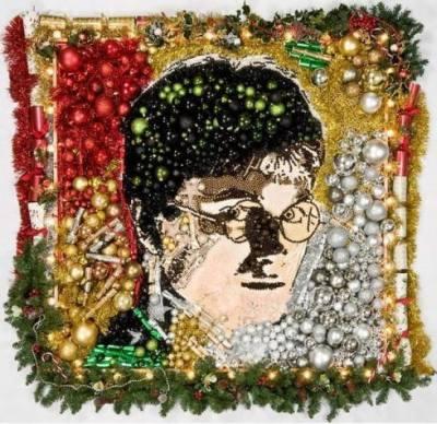 Harry Potter christmas ornaments art