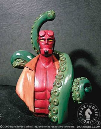 Hellboy cool ornament